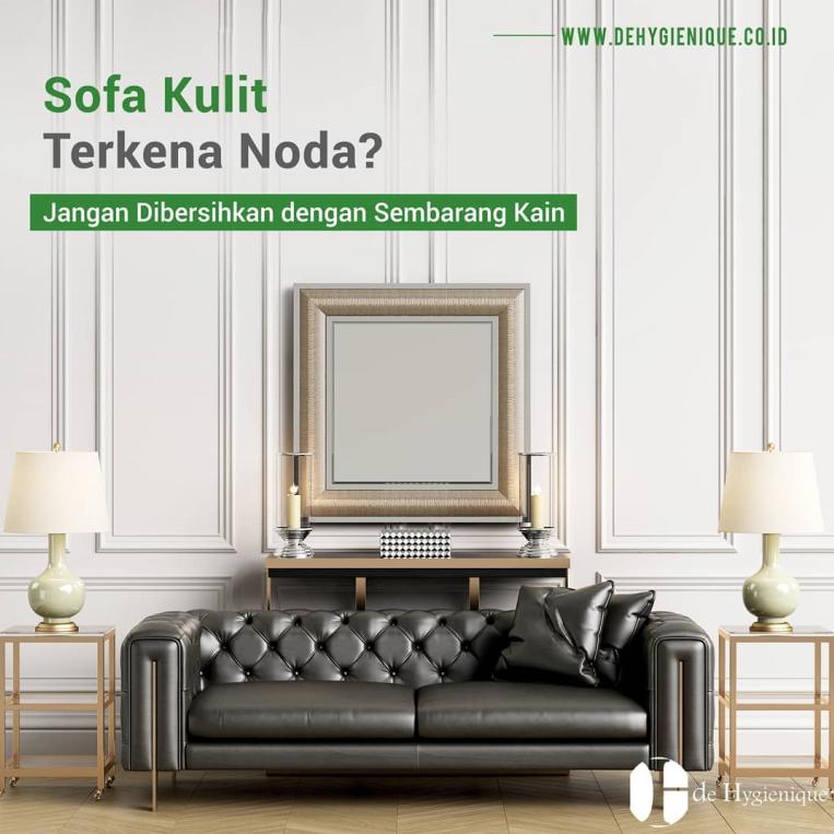 Cara Membersihkan Sofa Dengan Benar